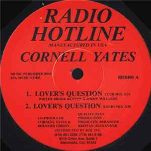 Téléchargement le album Cornell Yates - Lover's Question