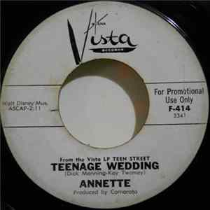 Téléchargement le album Annette - Teenage Wedding