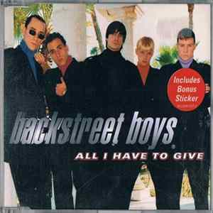Téléchargement le album Backstreet Boys - All I Have To Give