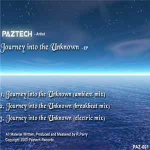 Téléchargement le album Paztech - Journey Into The Unknown - EP